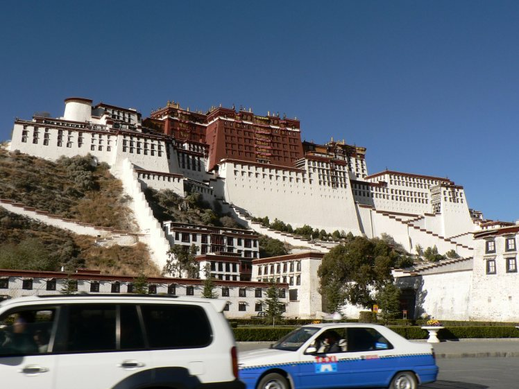 Potala from the front